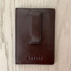 Men's Ralph Lauren Card Case with Money Clip